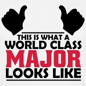 world class major T-Shirts - Men's T-Shirt
