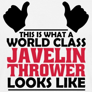 world class javelin thrower T-Shirts - Men's T-Shirt