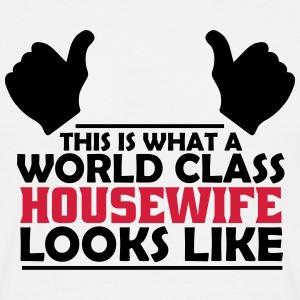 world class housewife T-Shirts - Men's T-Shirt