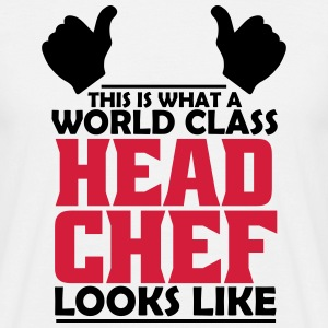 world class head chef T-Shirts - Men's T-Shirt