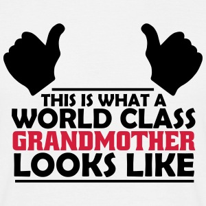 world class grandmother T-Shirts - Men's T-Shirt