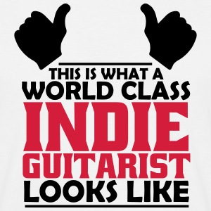 world class indie guitarist T-Shirts - Men's T-Shirt