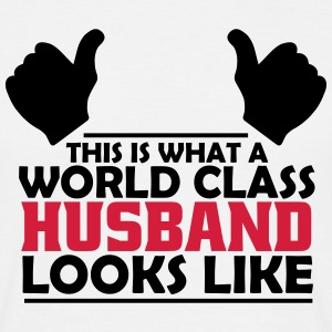 world class husband T-Shirts - Men's T-Shirt