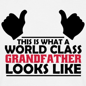 world class grandfather T-Shirts - Men's T-Shirt