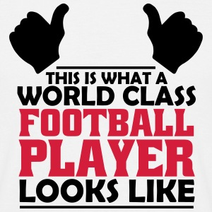 world class football player T-Shirts - Men's T-Shirt