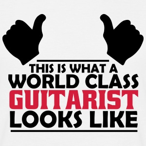 world class guitarist T-Shirts - Men's T-Shirt