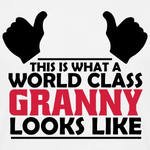 world class granny T-Shirts - Men's T-Shirt