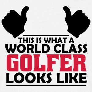 world class golfer T-Shirts - Men's T-Shirt