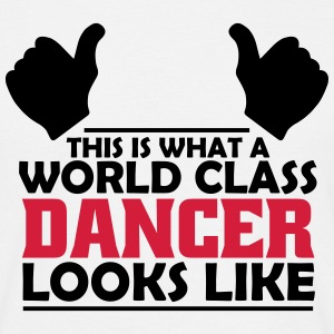 world class dancer T-Shirts - Men's T-Shirt