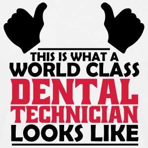 world class dental technician T-Shirts - Men's T-Shirt