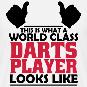 world class darts player T-Shirts - Men's T-Shirt