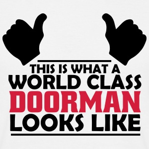 world class doorman T-Shirts - Men's T-Shirt