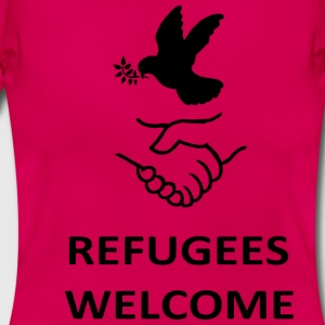 Refugees Welcome T-Shirts - Women's T-Shirt