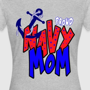Proud navy Mom T-Shirts - Women's T-Shirt