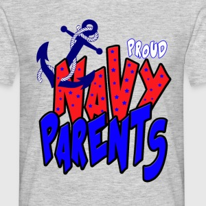 Proud Navy Parents T-Shirts - Men's T-Shirt