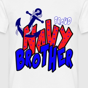 Proud Navy Brother T-Shirts - Men's T-Shirt