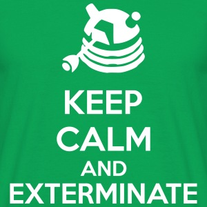Keep Calm And Exterminate T-shirts - Mannen T-shirt