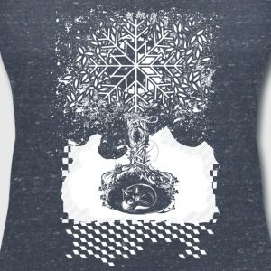 A tree in the dead of winter T-Shirts - Women's V-Neck T-Shirt
