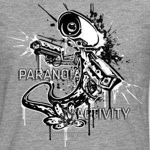 Paranoia Activity Manga larga - Camiseta de manga larga premium hombre