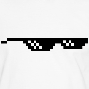 Deal with it Sonnenbrille Pixelbrille T-Shirts - Männer Kontrast-T-Shirt