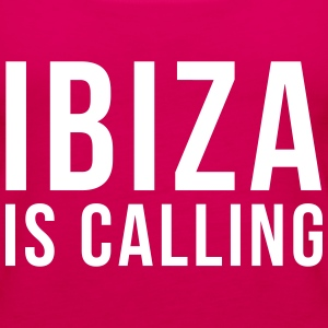 Ibiza Is Calling 2 Topper - Premium singlet for kvinner