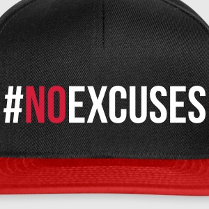 No Excuses  Caps & Hats - Snapback Cap