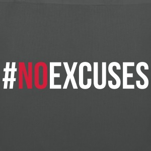 No Excuses  Bags & Backpacks - Tote Bag