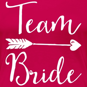 Sugar Team Bride T-shirts - Vrouwen Premium T-shirt