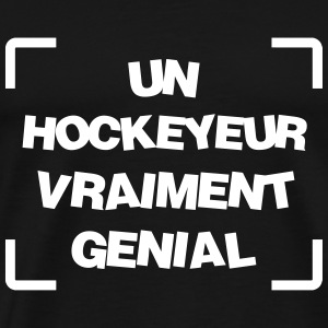 Hockey sur glace / Hockeyeur / Patinoire / Patins Tee shirts - T-shirt Premium Homme