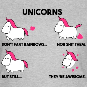 Unicorns are awesome. - Women's T-Shirt