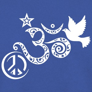 Peace Om Angels - Sweat-shirt Homme