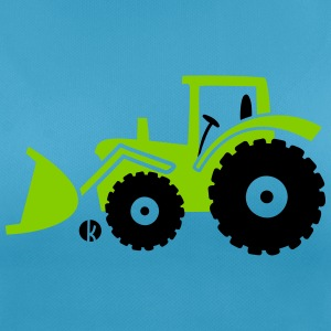 Tractor front loader Bulldog wheel loader with bucket T-Shirts - Women's Breathable T-Shirt