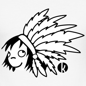 Indian Chief - Indian Camisetas - Camiseta ajustada hombre