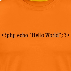 PHP Hello World T-Shirts