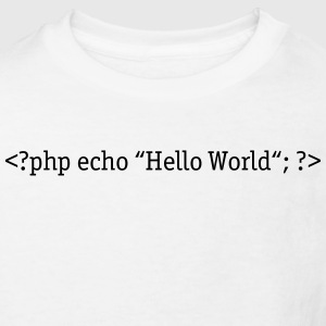 PHP Hello World Tee shirts - T-shirt Bio Enfant
