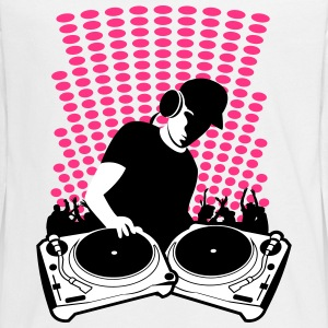 DJ turntables Long Sleeve Shirts - Teenagers' Premium Longsleeve Shirt