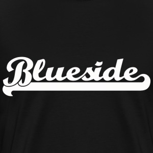 Black and White logo Blueside - Männer Premium T-Shirt