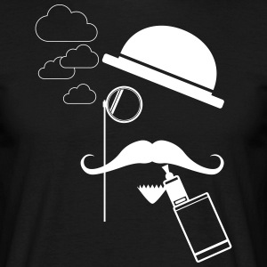 Vape like a Gentleman T-Shirt - Herre-T-shirt