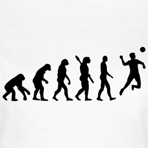 Evolution Faustball T-Shirts - Frauen T-Shirt