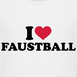 I love Faustball T-Shirts - Kinder Premium T-Shirt