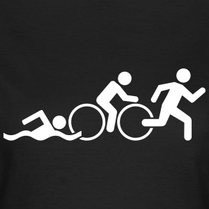 Triathlon T-Shirts - Frauen T-Shirt
