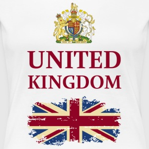 UNITED KINGDOM T-Shirts - Frauen Premium T-Shirt
