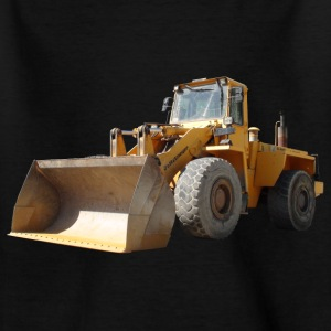wheel loader_oldtimer Skjorter - T-skjorte for barn