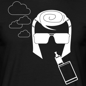 The KING would VAPE T-Shirt - Herre-T-shirt