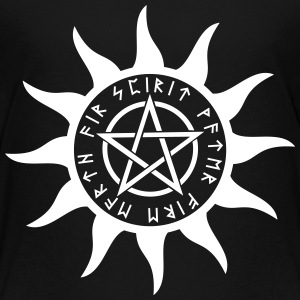 Pentagram Rune T-shirts - Teenager premium T-shirt