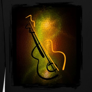 Spread MUSIC ~ M-o-L Guitar - Contrast Colour Hoodie