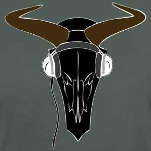 Bison Skull T-shirt - Frauen Bio-T-Shirt