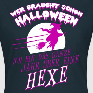 Hexe Halloween T-Shirts - Frauen T-Shirt