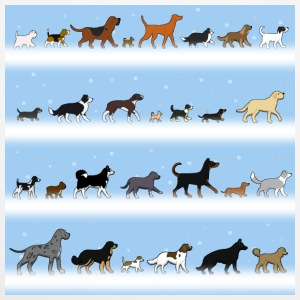 Dogs go in the snow Otros - Funda de almohada 40 x 40 cm