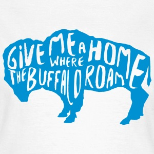 Buffalo message protection - bison - T-shirt Femme